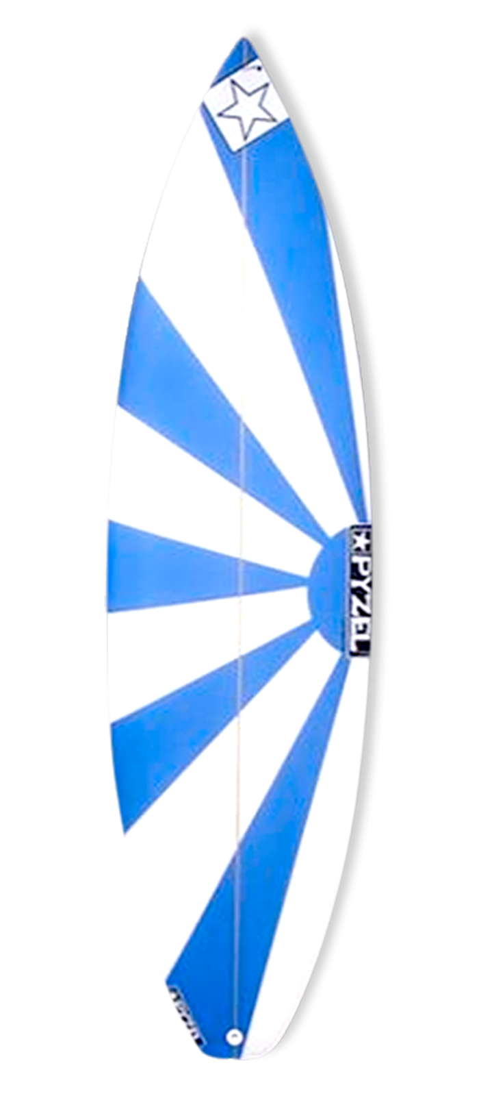 INDIE GROM surfboard model deck