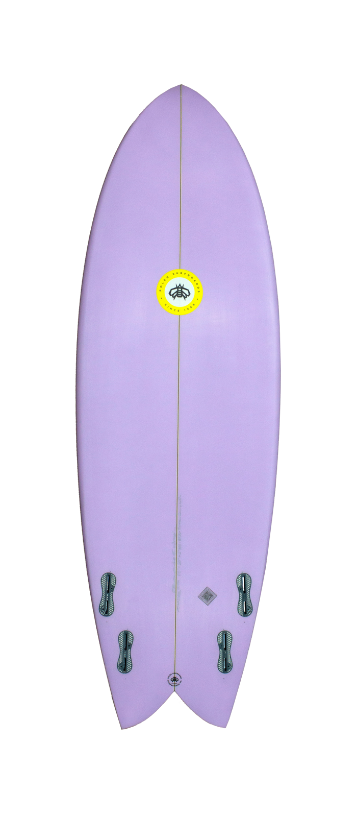 THRASHER surfboard model bottom