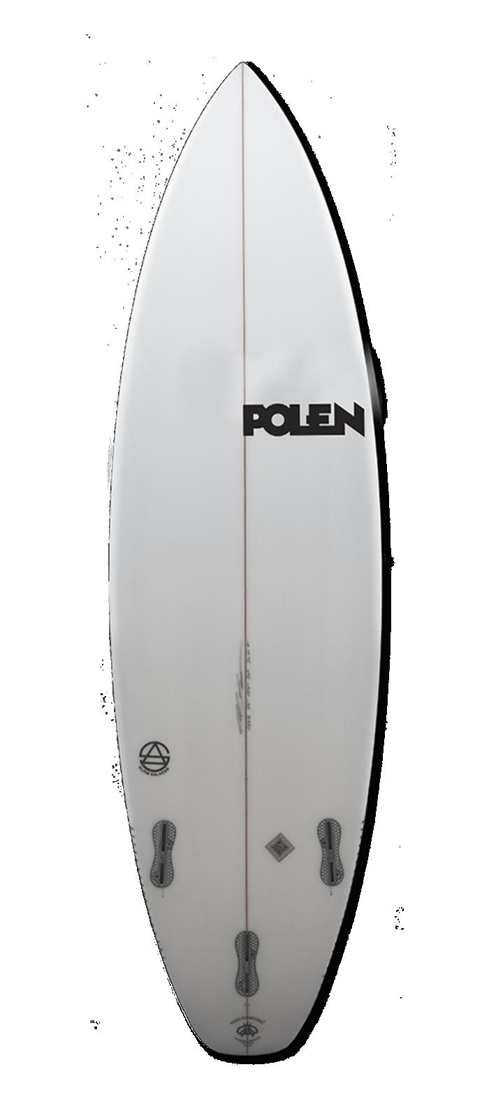 LITTLE DEVIL surfboard model bottom