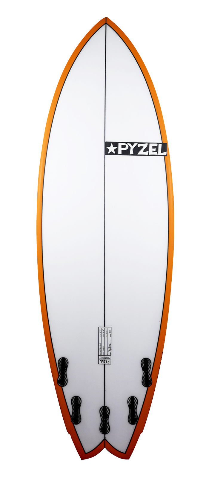 ASTRO POP surfboard model bottom