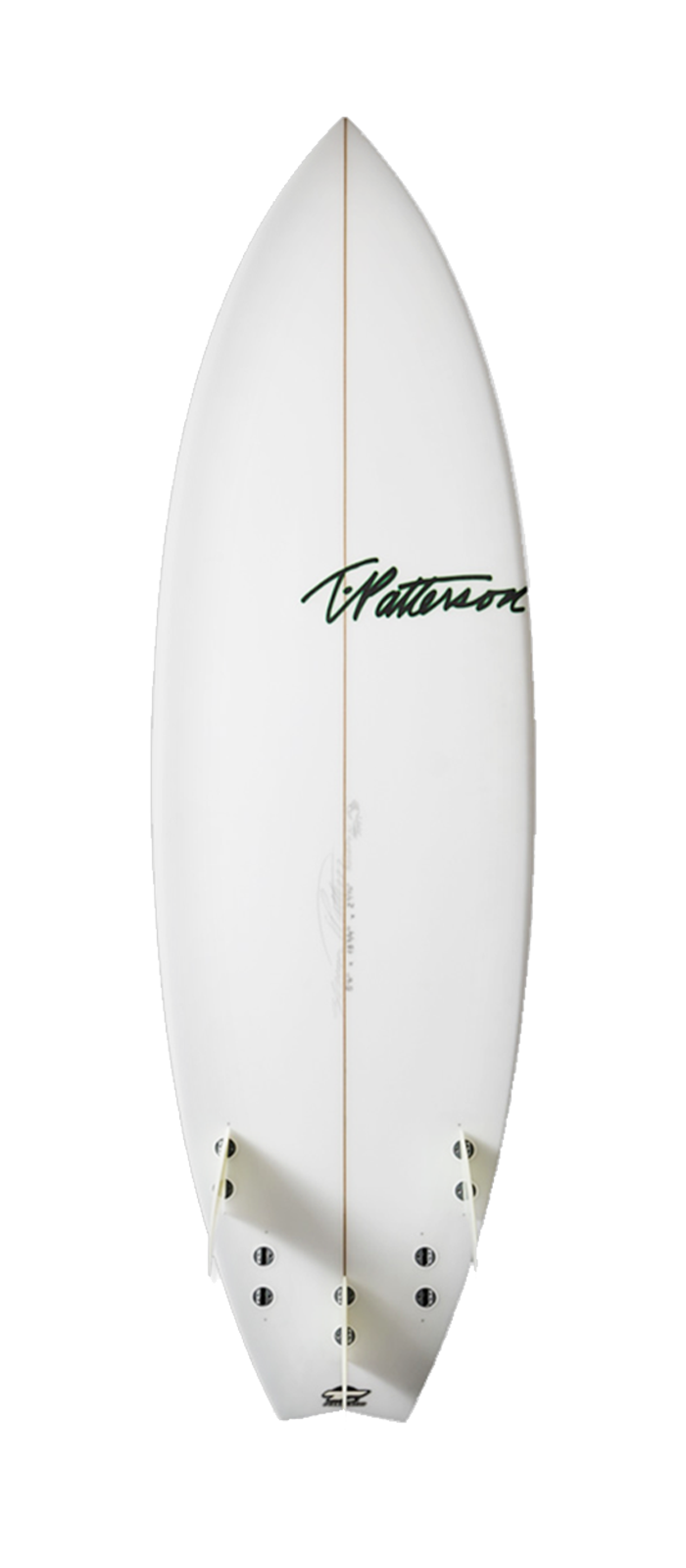 Scorpion surfboard model bottom