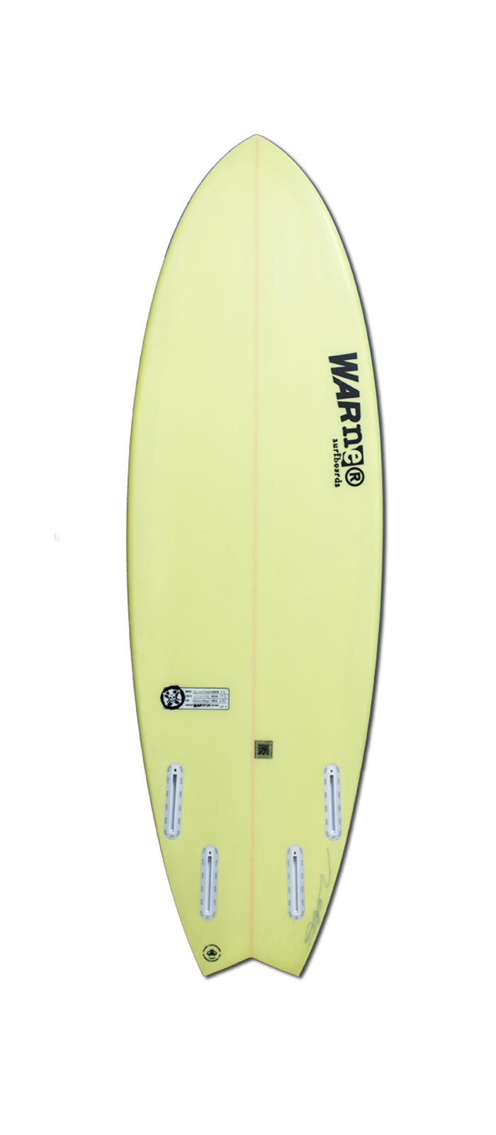 SLINGSHOT surfboard model bottom