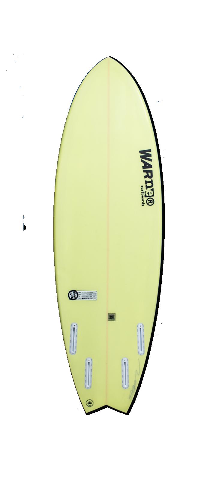 SLINGSHOT surfboard model bottom
