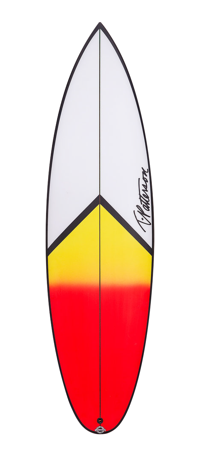 IT-15 surfboard model deck