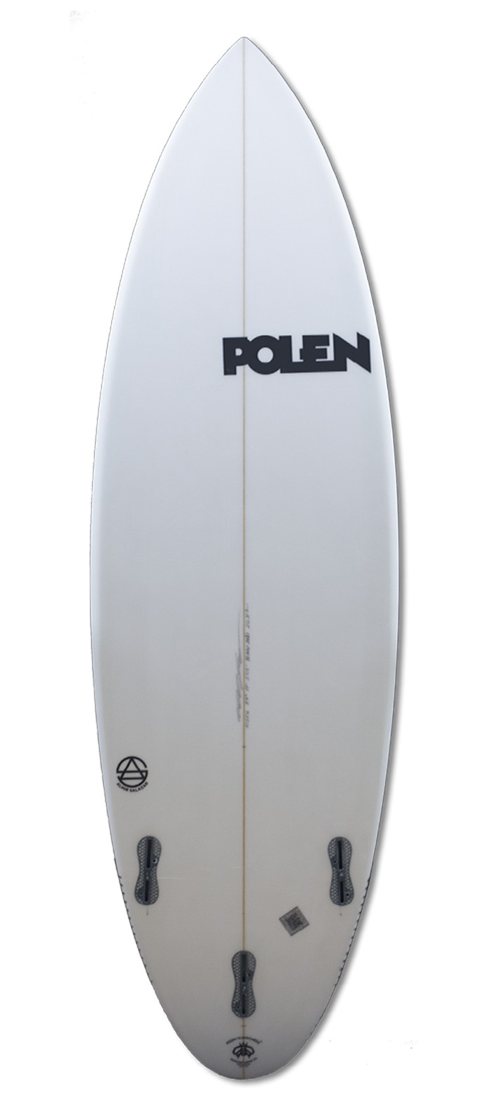THE SCORE surfboard model bottom