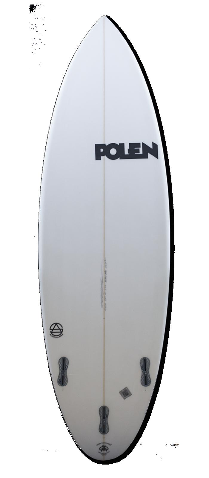 THE SCORE surfboard model bottom