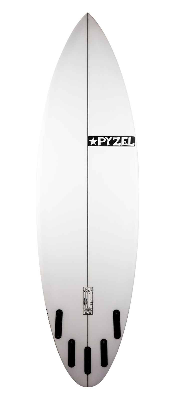 THE GHOST PRO surfboard model bottom
