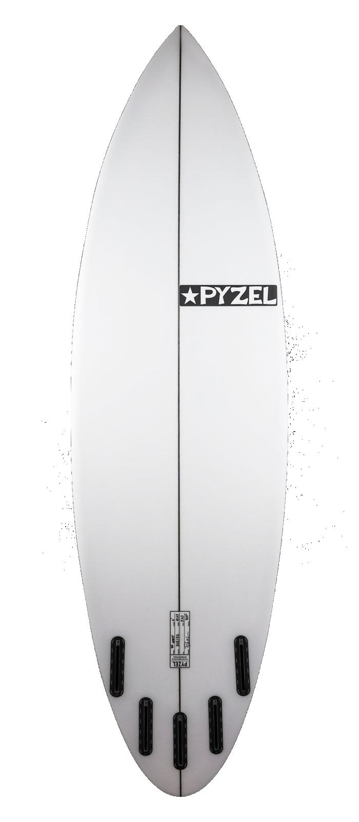 Ghost surfboard model bottom