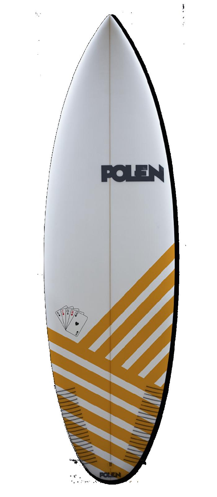 THE SCORE surfboard model