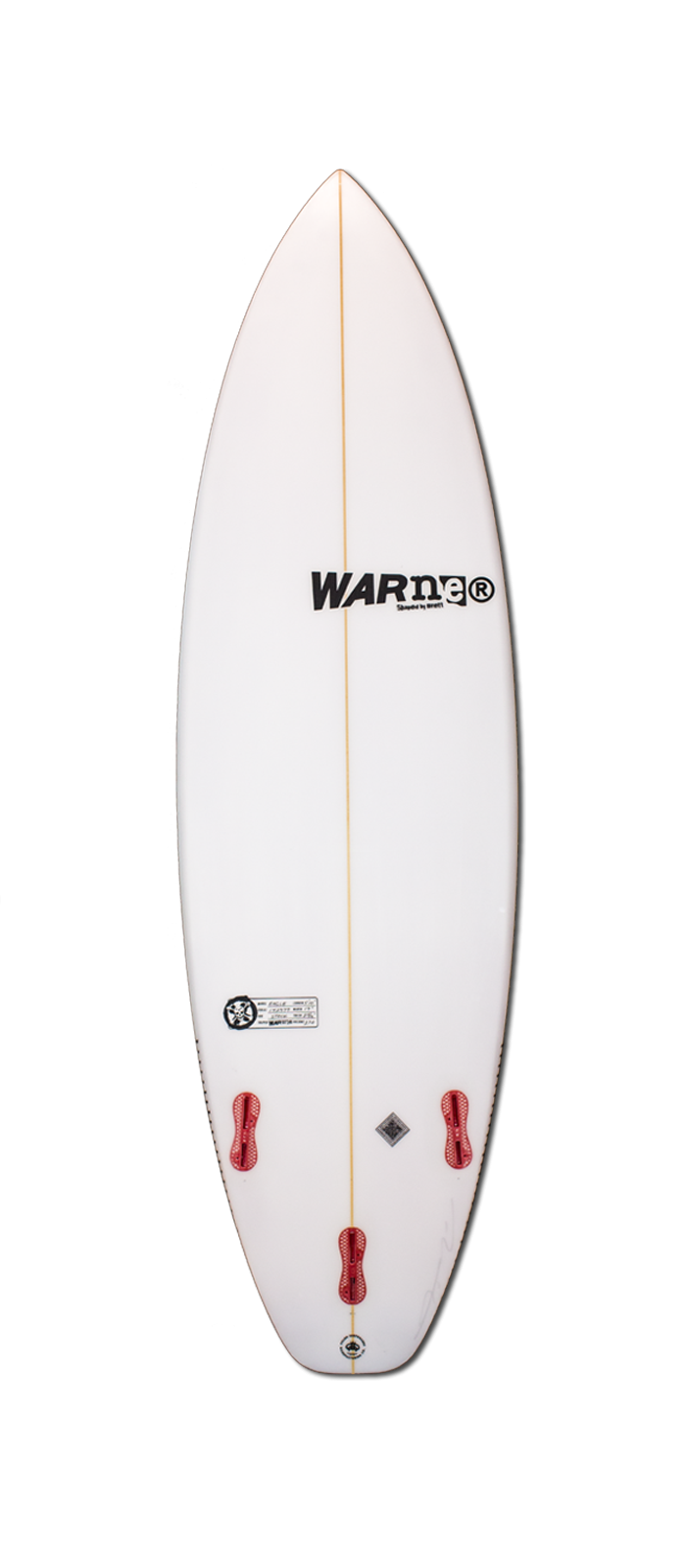 SEA EAGLE surfboard model bottom