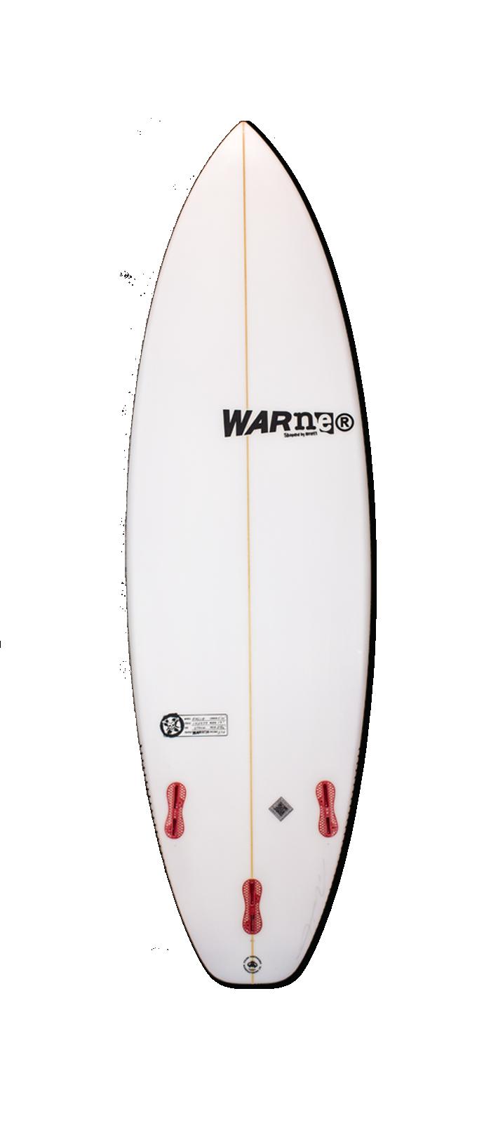 SEA EAGLE surfboard model bottom