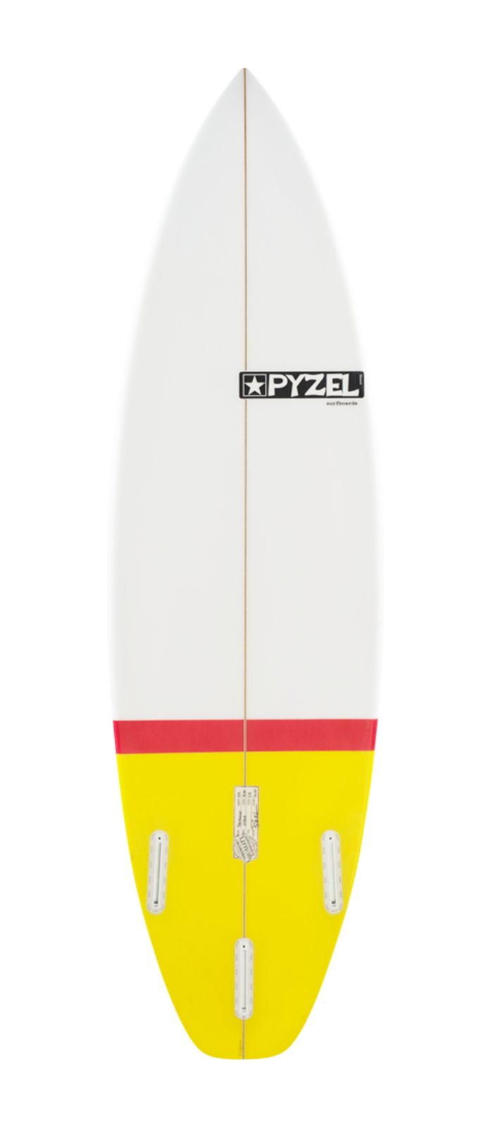 THE AMIGO surfboard model bottom