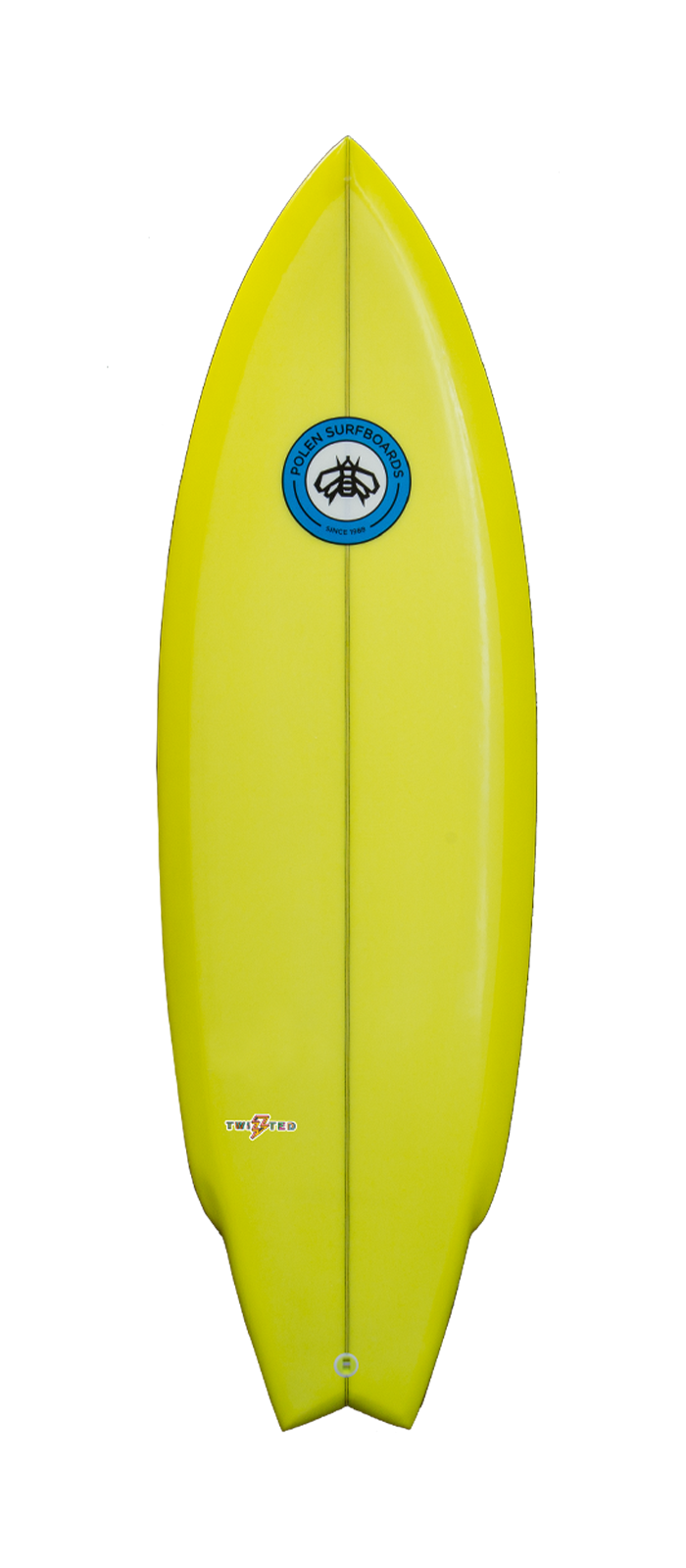 TWISTED surfboard model