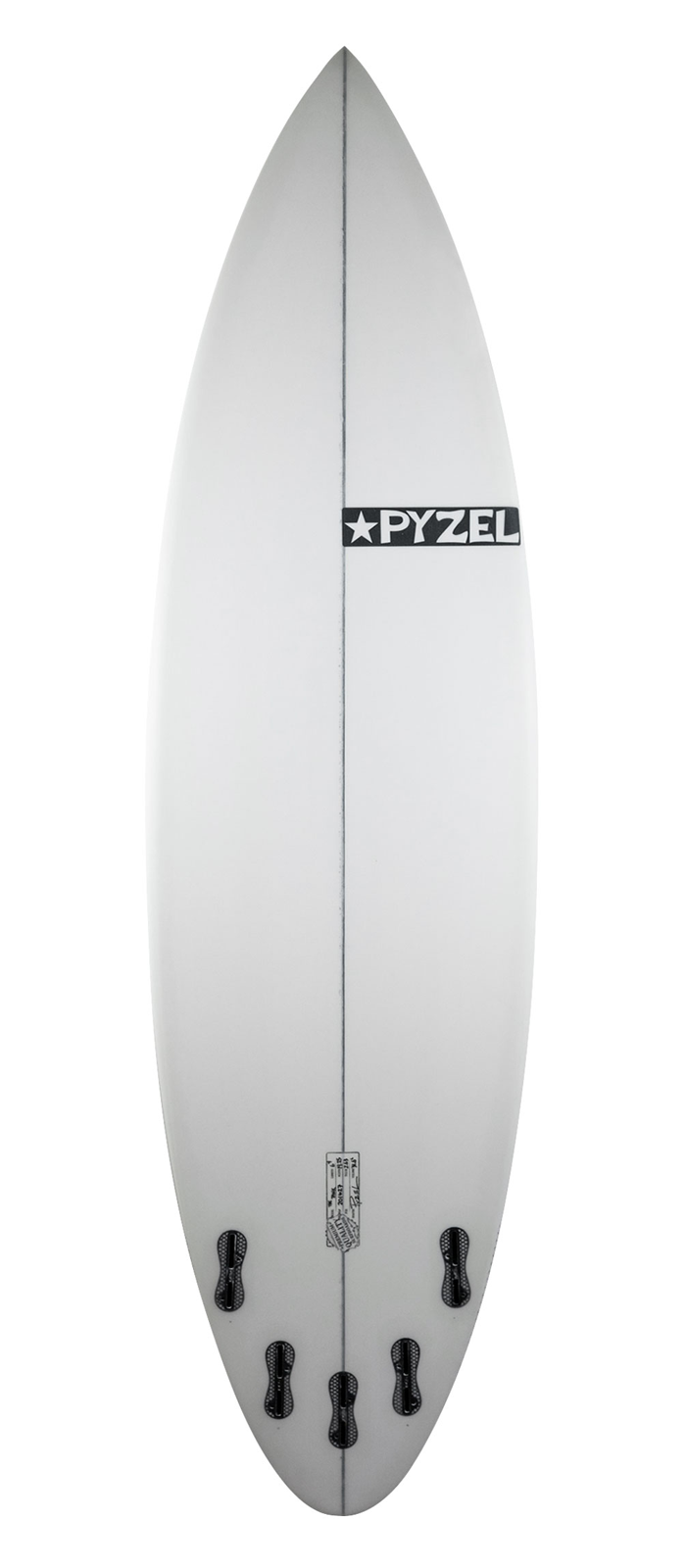 THE TANK surfboard model bottom