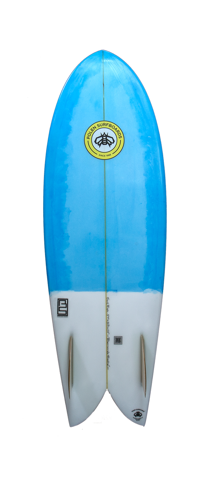 SAIL FISH surfboard model bottom