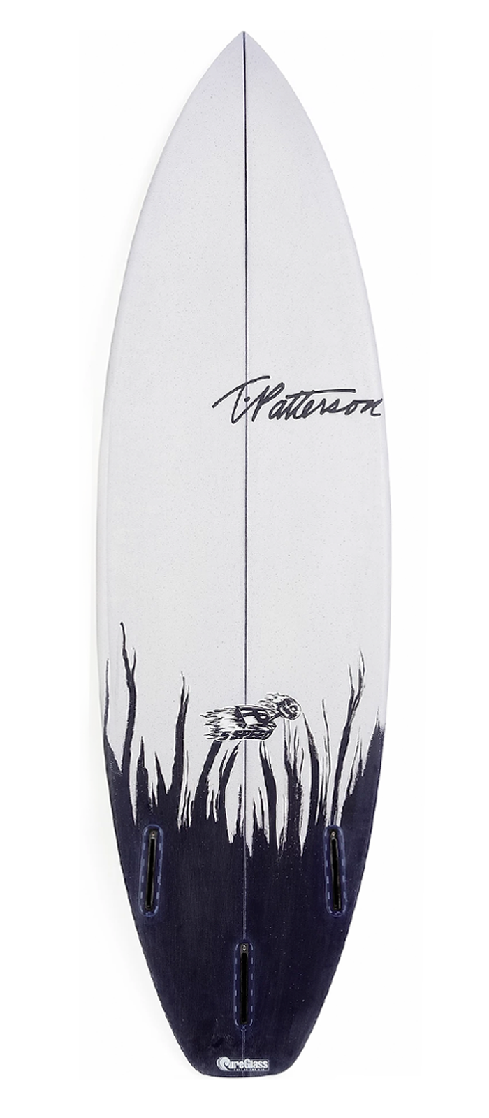 FIVE SPEED surfboard model bottom