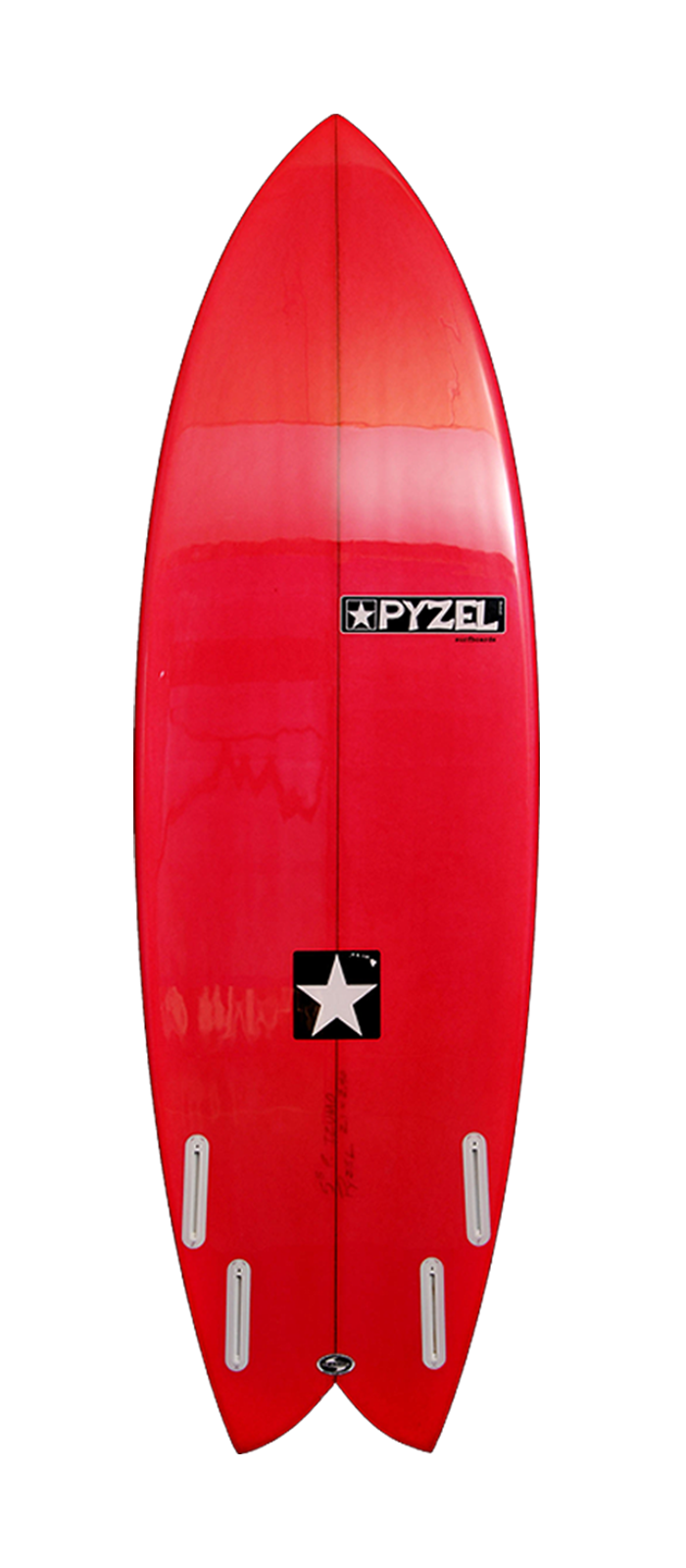 Astro Glider surfboard model bottom