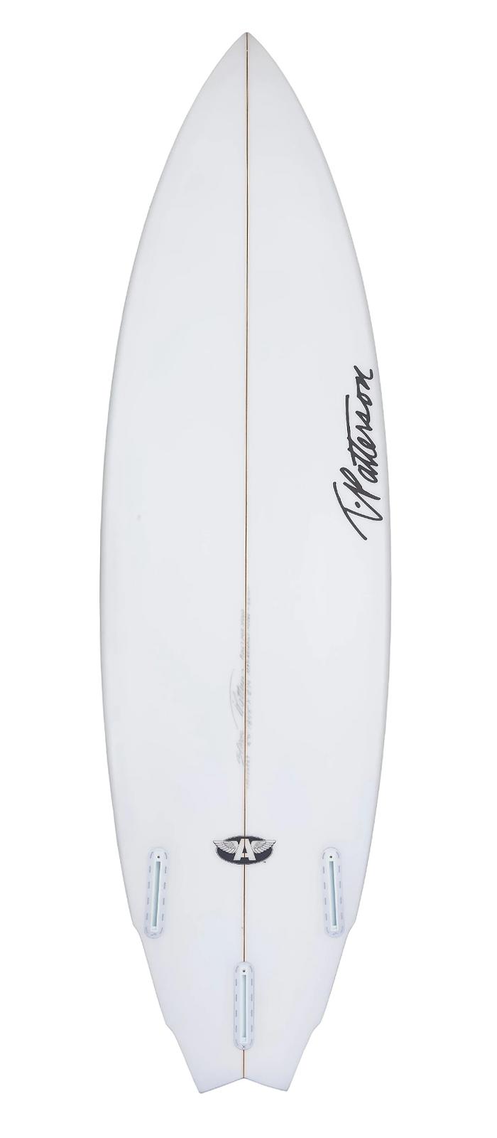 BUILT FOR SPEED surfboard model bottom