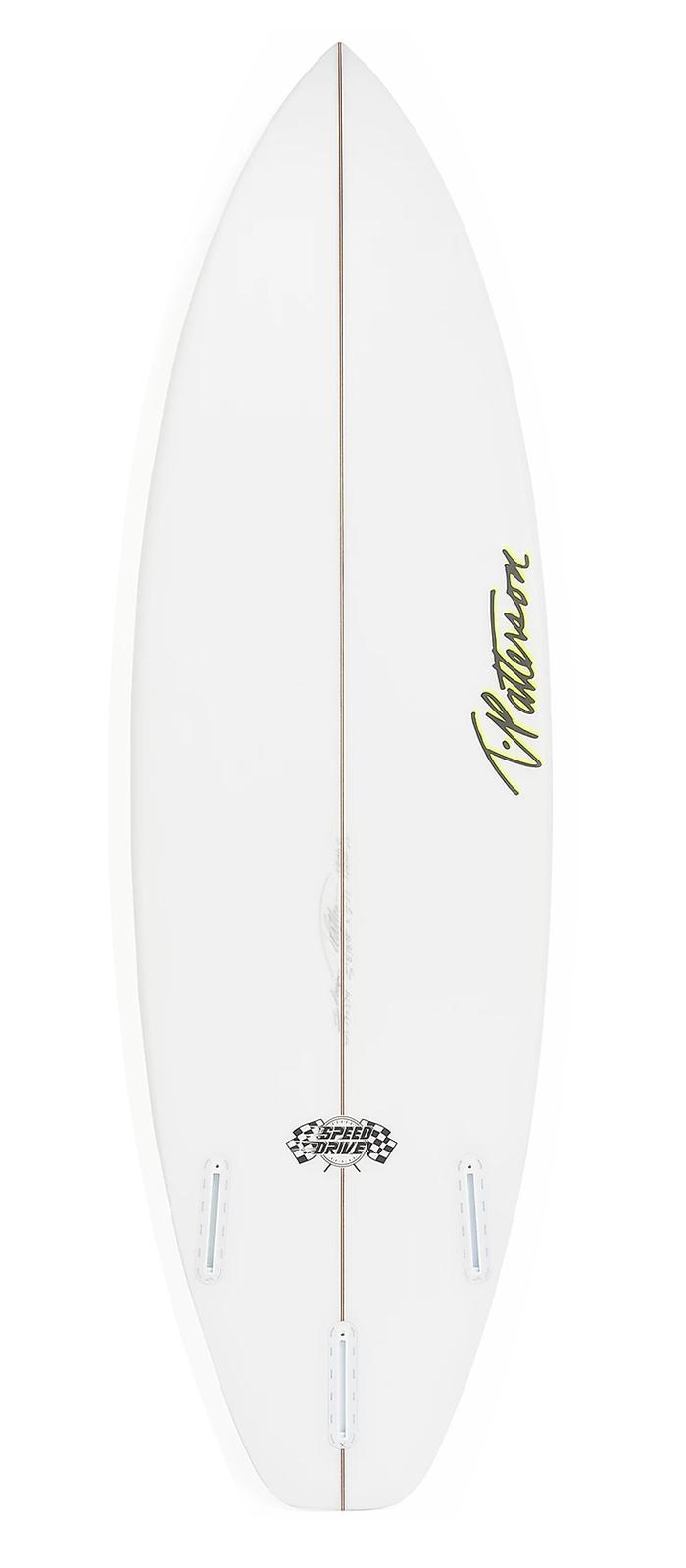SPEED DRIVE surfboard model bottom