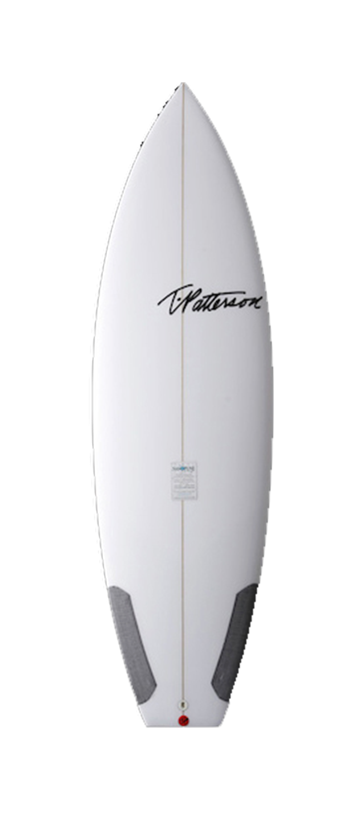 Chopped Clam surfboard model