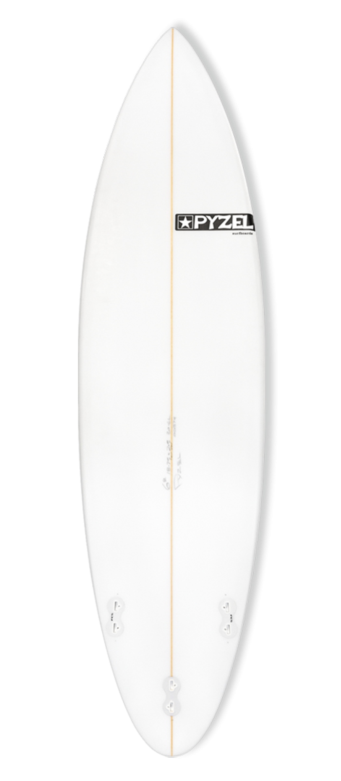 NEXT STEP surfboard model bottom