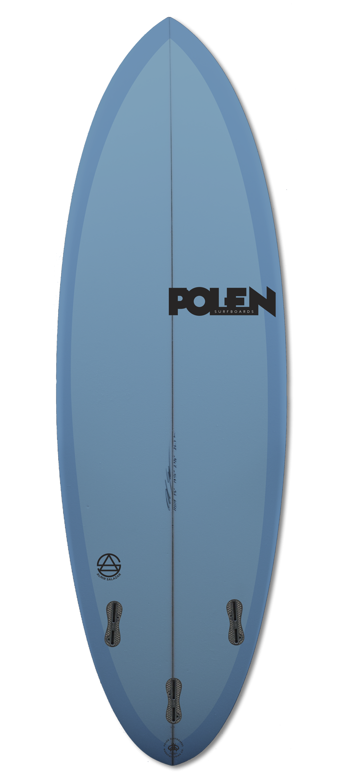 CATCHY surfboard model bottom