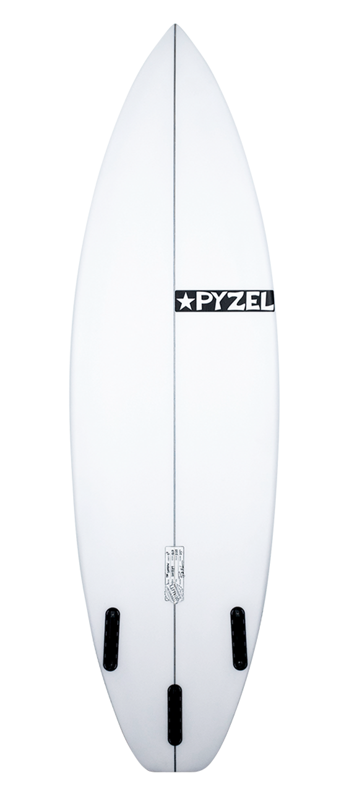 GROM SHADOW surfboard model bottom