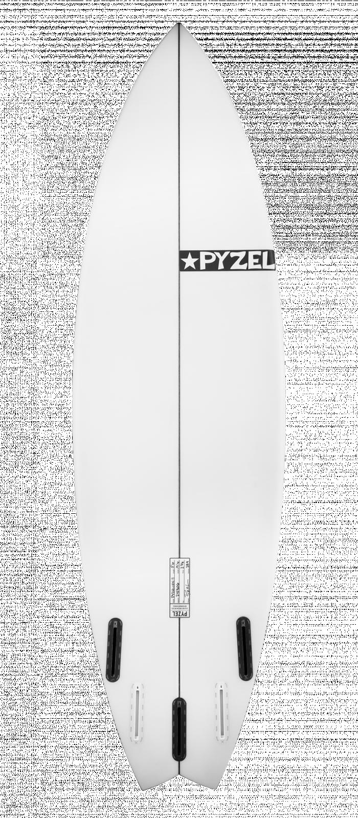 PYZALIEN 2 XL surfboard model bottom