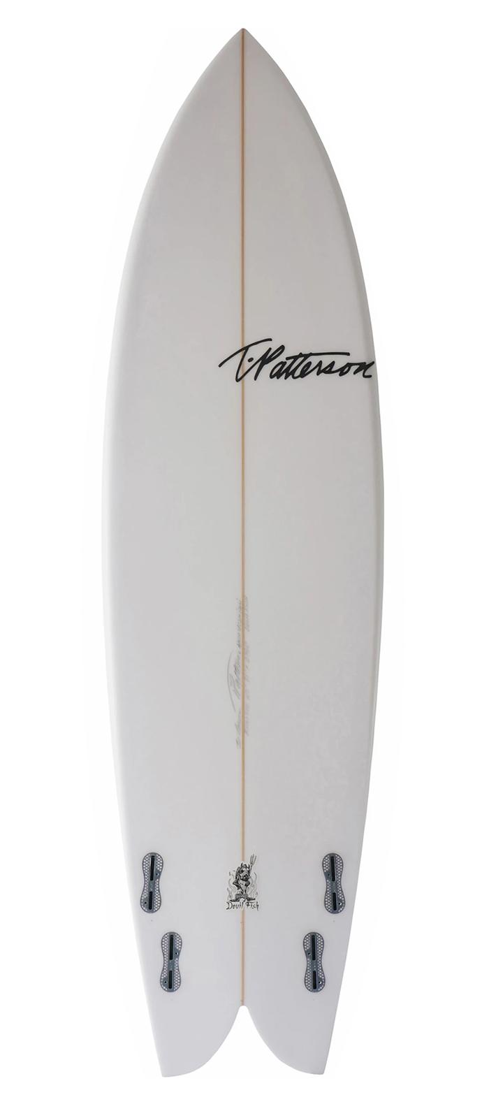 DEVIL FISH surfboard model bottom