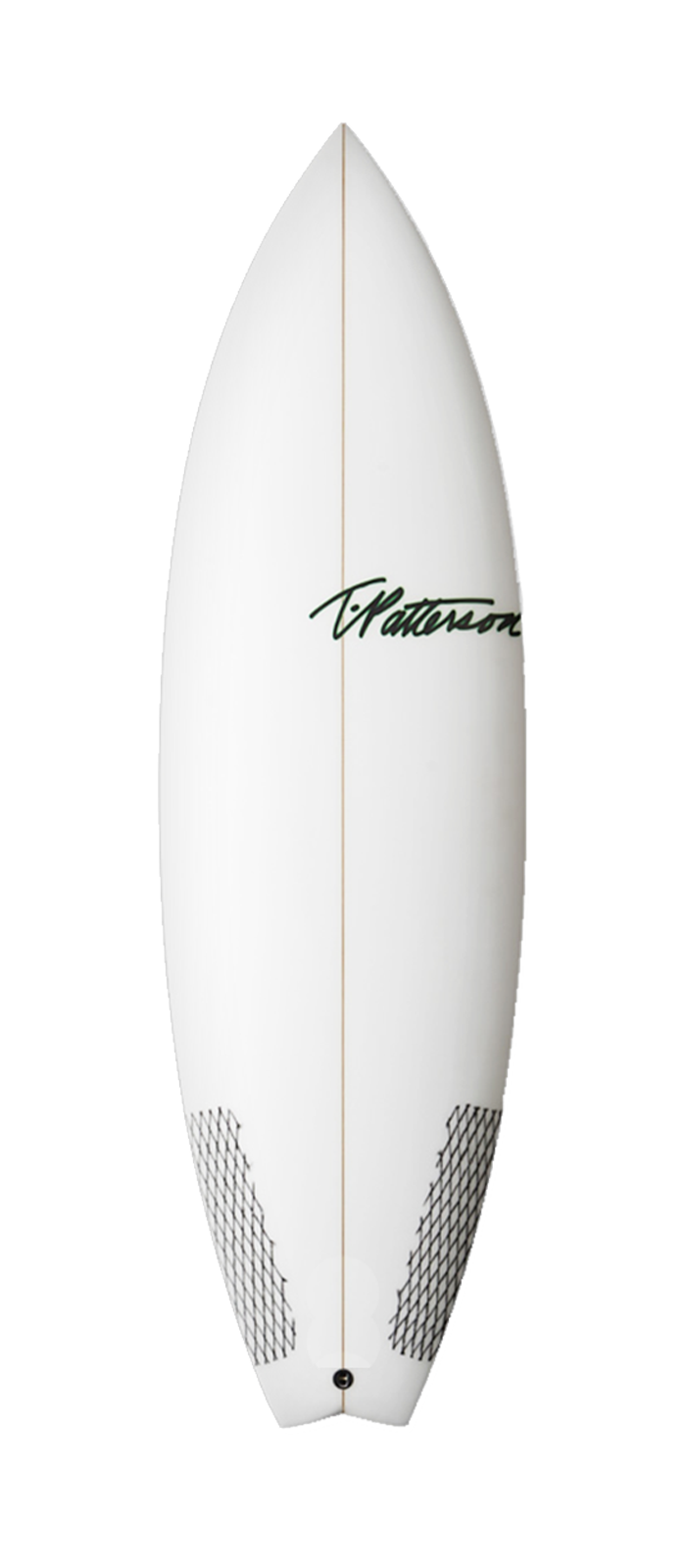 Scorpion surfboard model deck