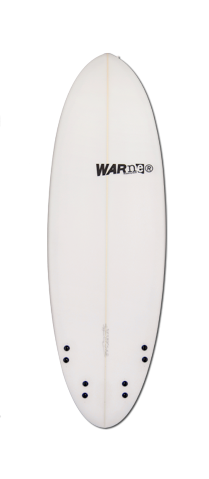 LAZY LIZARD surfboard model bottom
