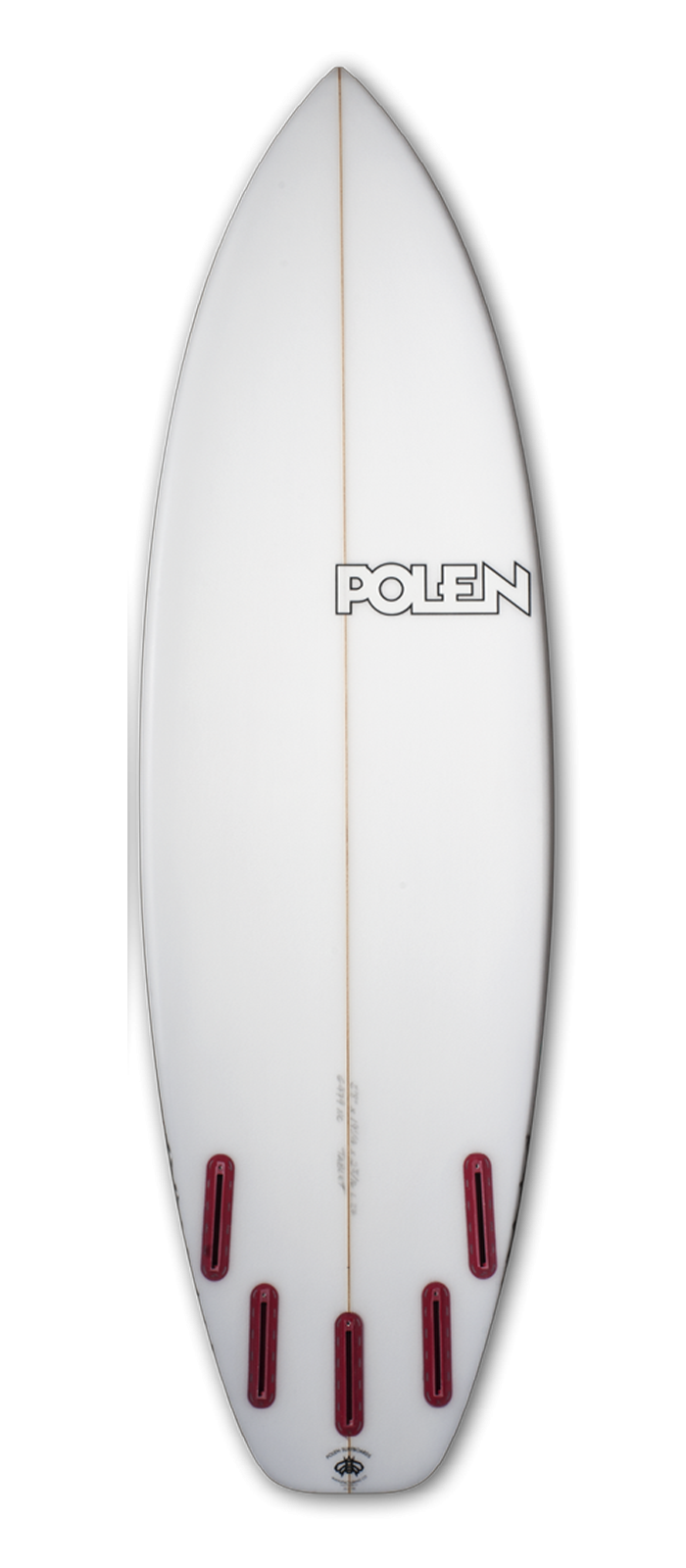 TABLET surfboard model bottom