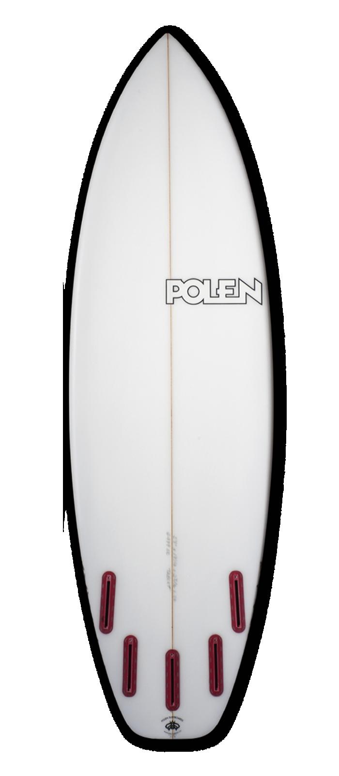 TABLET surfboard model bottom
