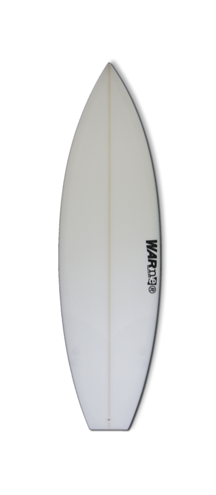 BANDIT surfboard model bottom