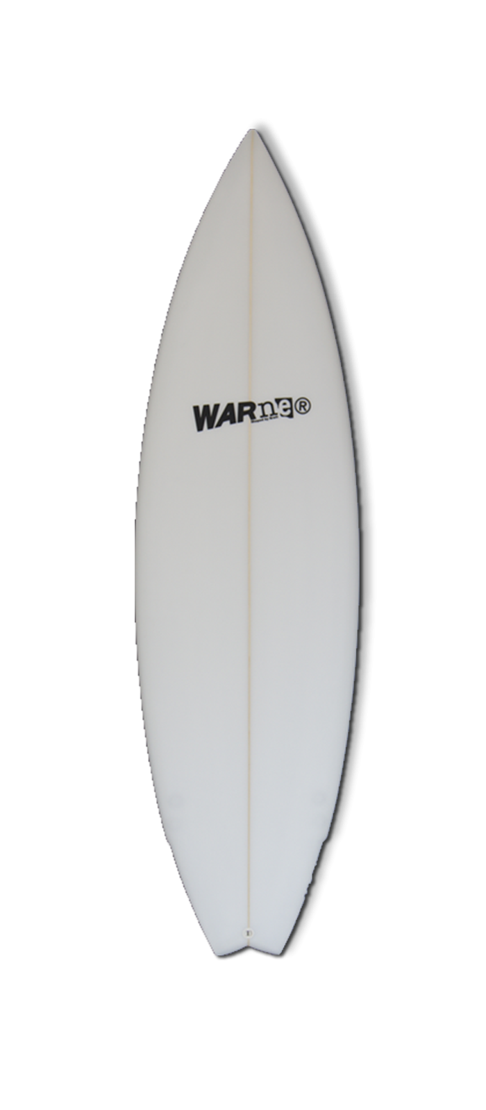 LIL FLYER surfboard model bottom