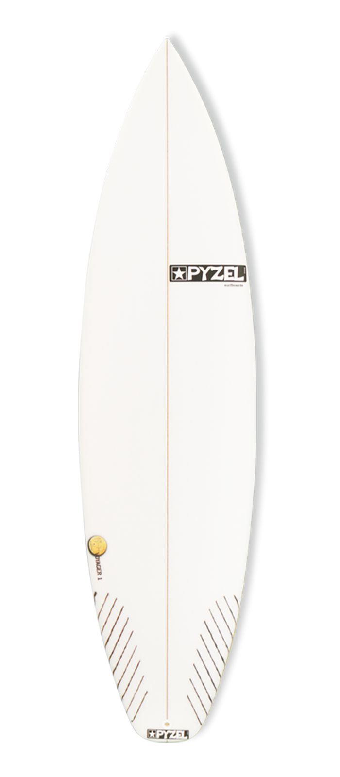 VOYAGER 1 surfboard model deck