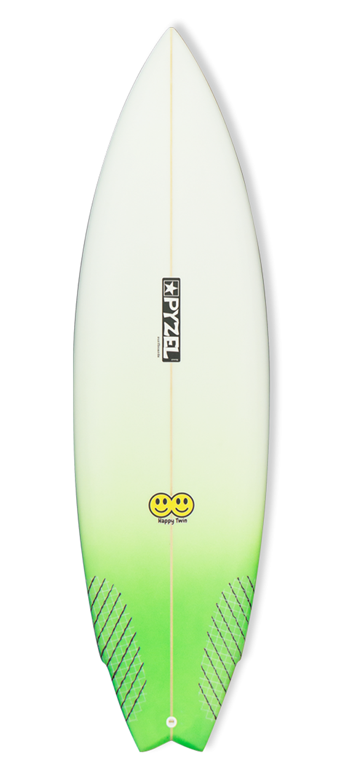 HAPPY TWIN surfboard model