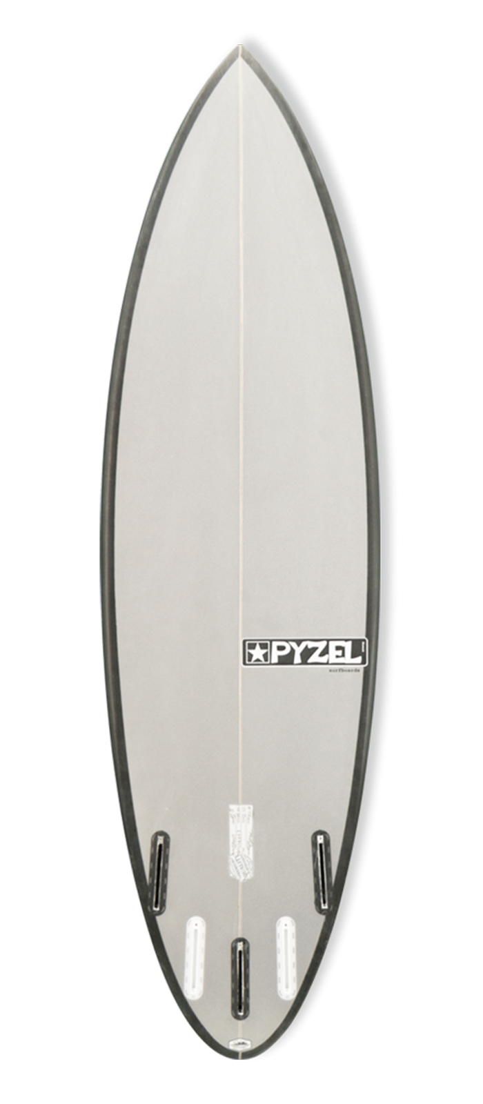 THE GHOST surfboard model bottom