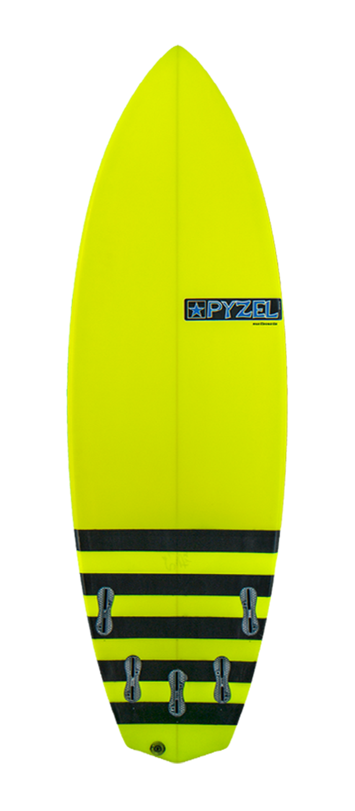 RIP OFF surfboard model bottom