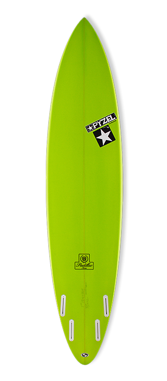 PADILLAC surfboard model bottom