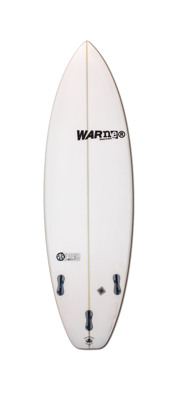 STRYKER surfboard model bottom