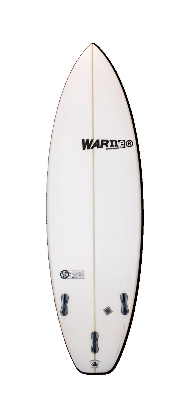 STRYKER surfboard model bottom