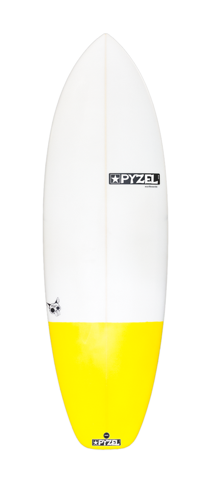RAT SKULL surfboard model deck