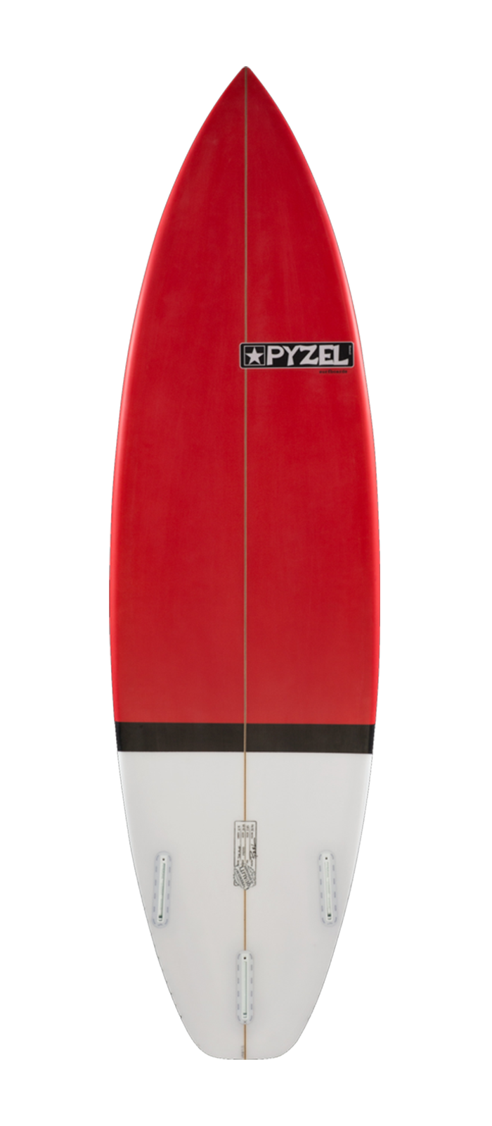 The Amp surfboard model bottom