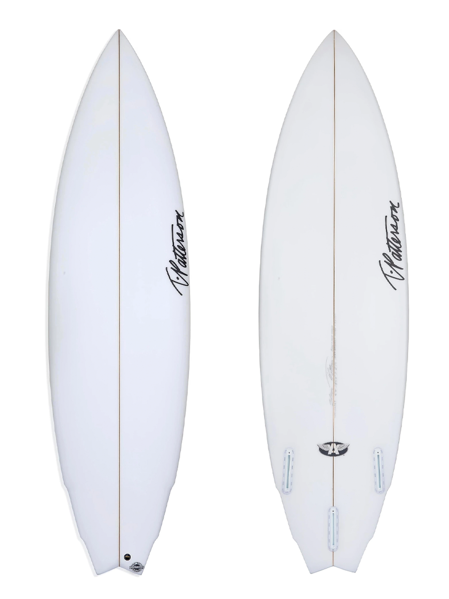BUILT FOR SPEED surfboard model picture