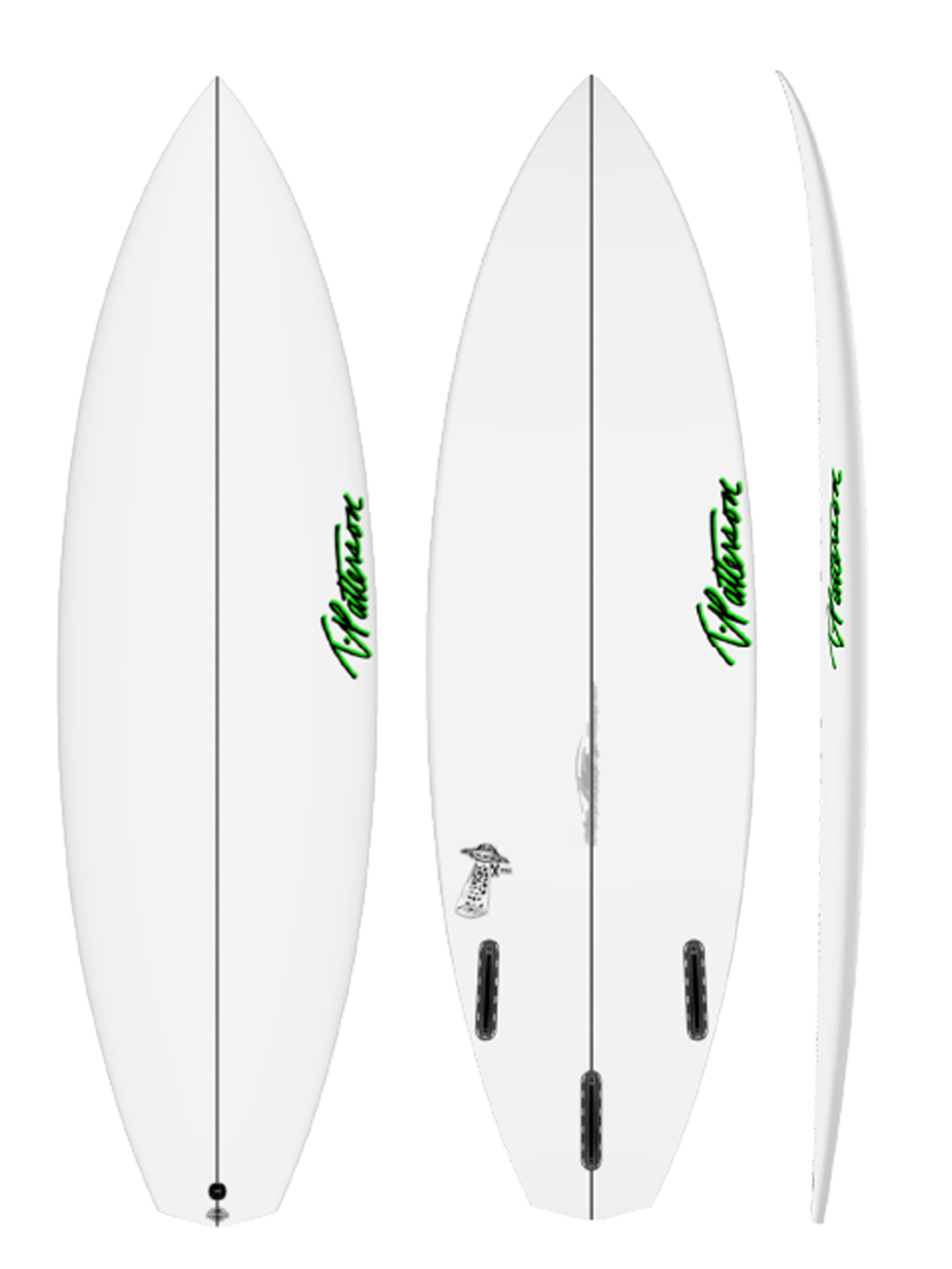 X FILE TWO surfboard model picture
