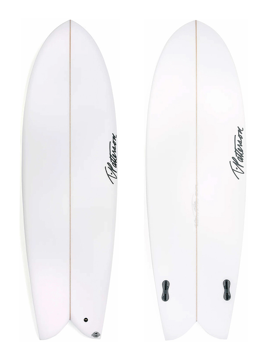 CALIFORNIA TWIN surfboard model picture