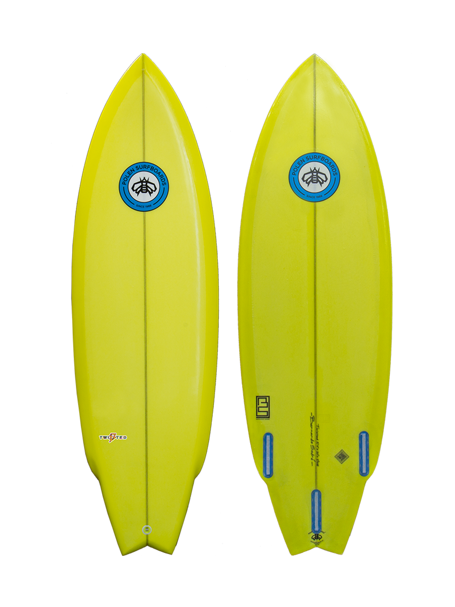 TWISTED surfboard model picture