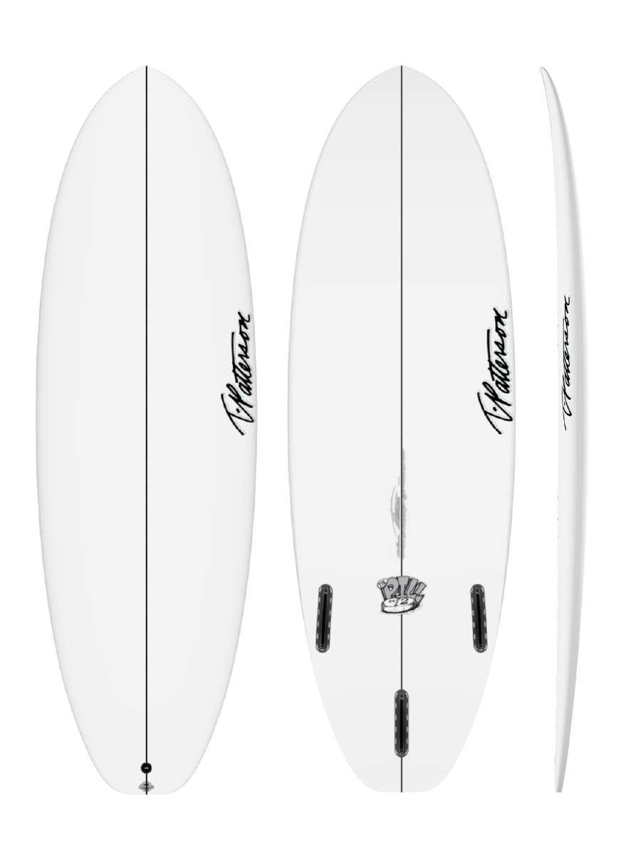 THE PILL TWO surfboard model picture