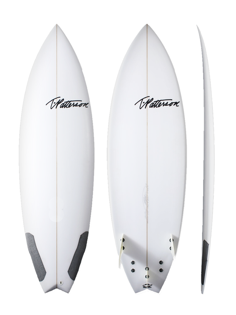 Twinner surfboard model picture